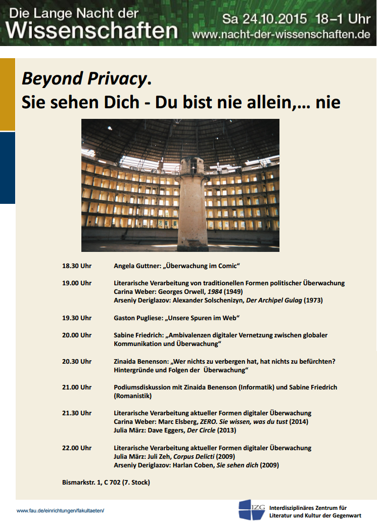 Vortrag Beyond Privacy