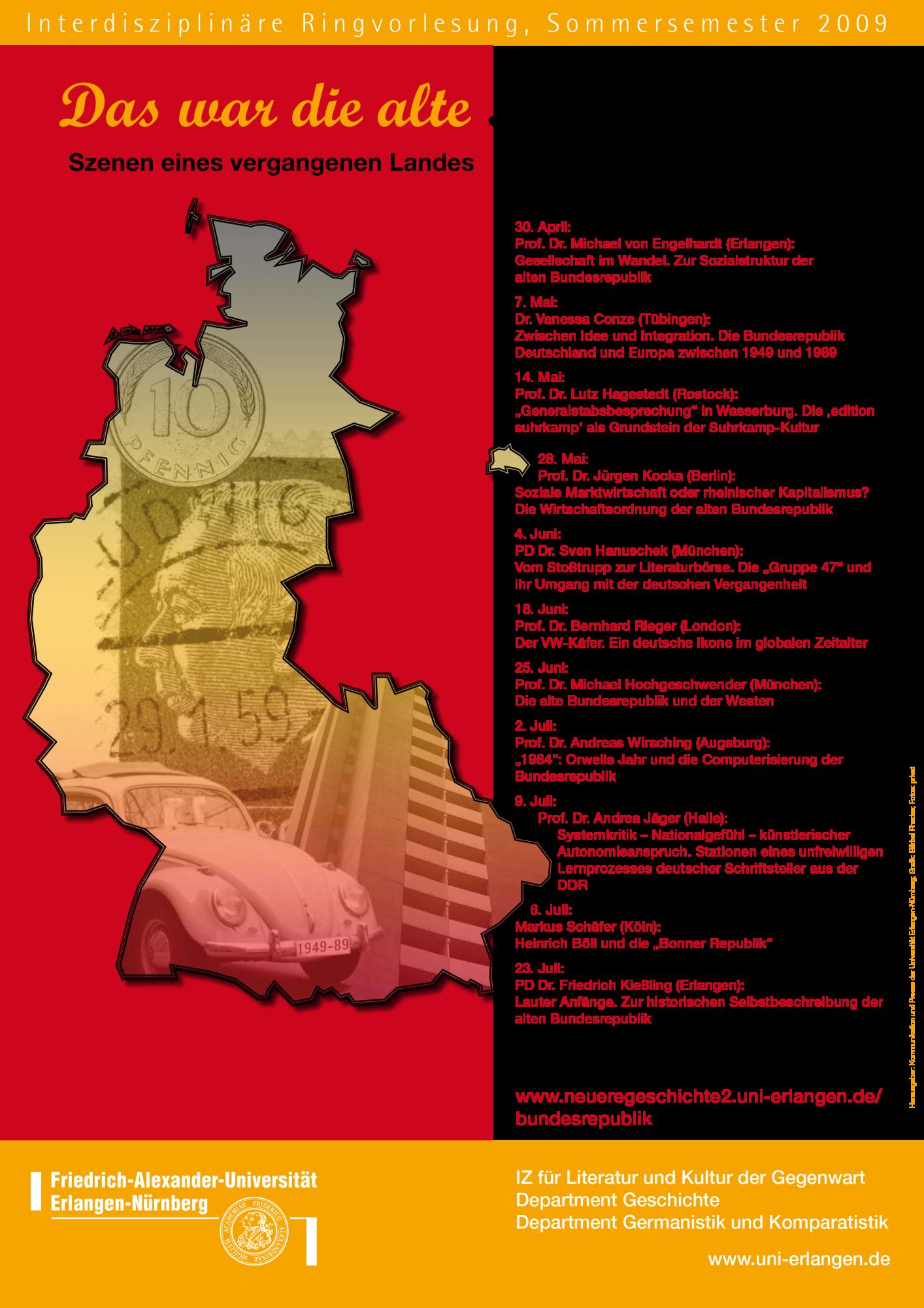 Plakat_Das war die alte Bundesrepublik